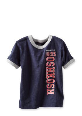 OshKosh Bgosh  Logo Tee Boys 4-7