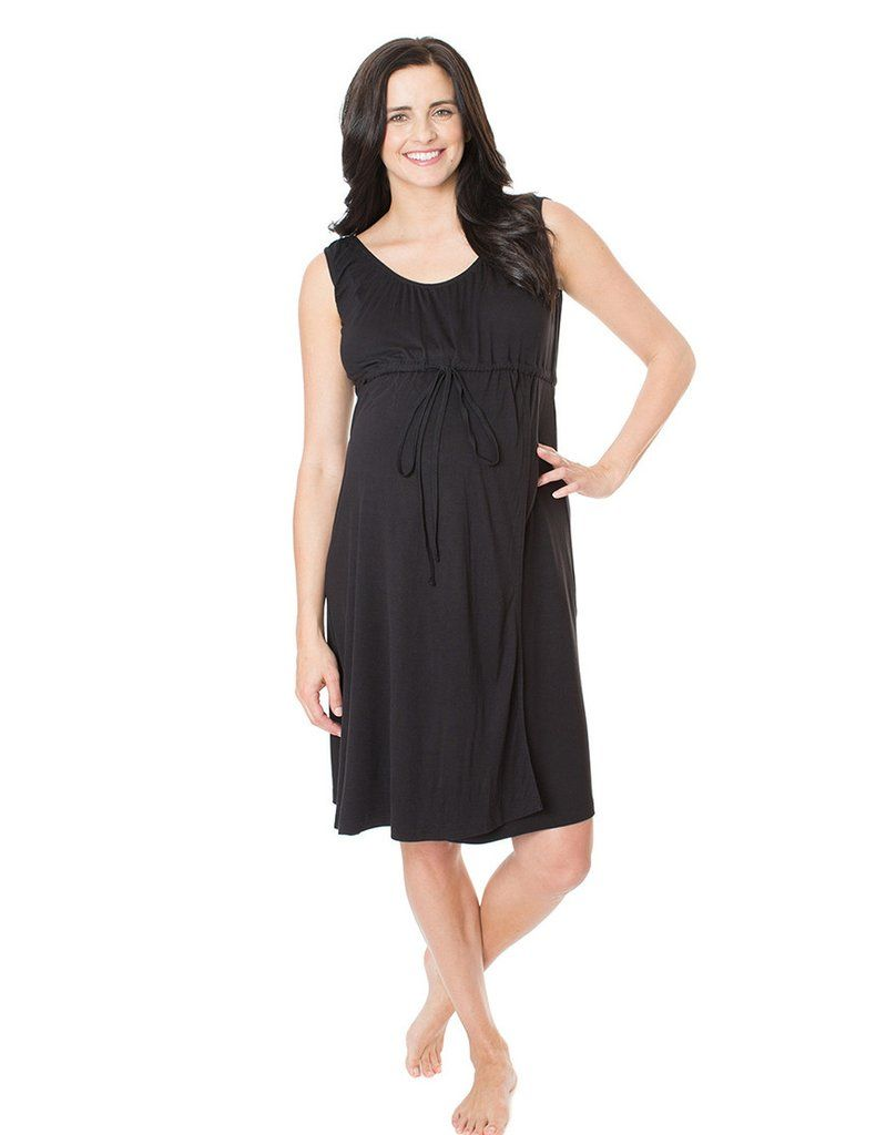Simply Black 3 in 1 Labor / Delivery / Nursing Gown   Nursing gown ...