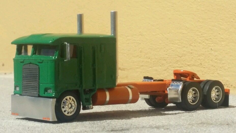 1 64 Dcp Kenworth K100 Custom Moving Trailers Toy Trucks