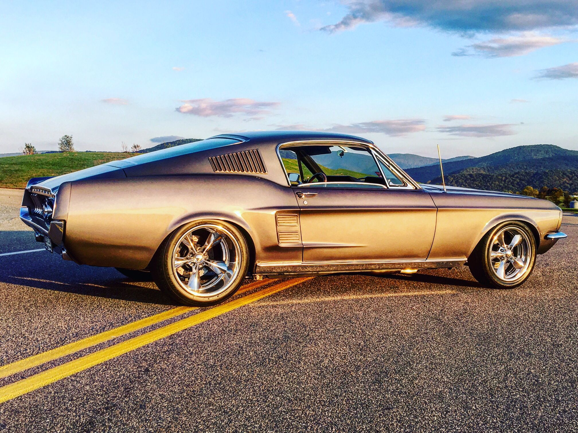 Mini Tubbed 1967 Fastback Mustang | Muscle cars | Pinterest ...