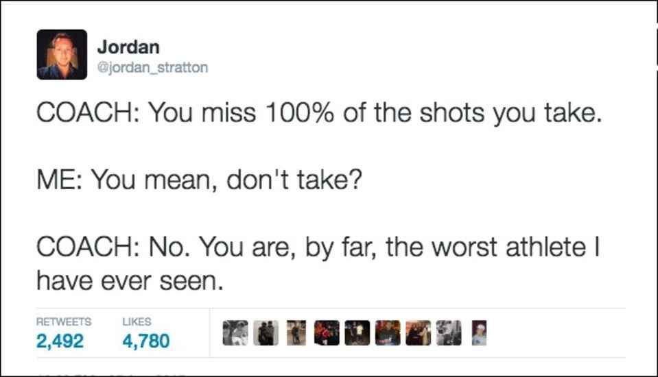 Athlete Tweets
