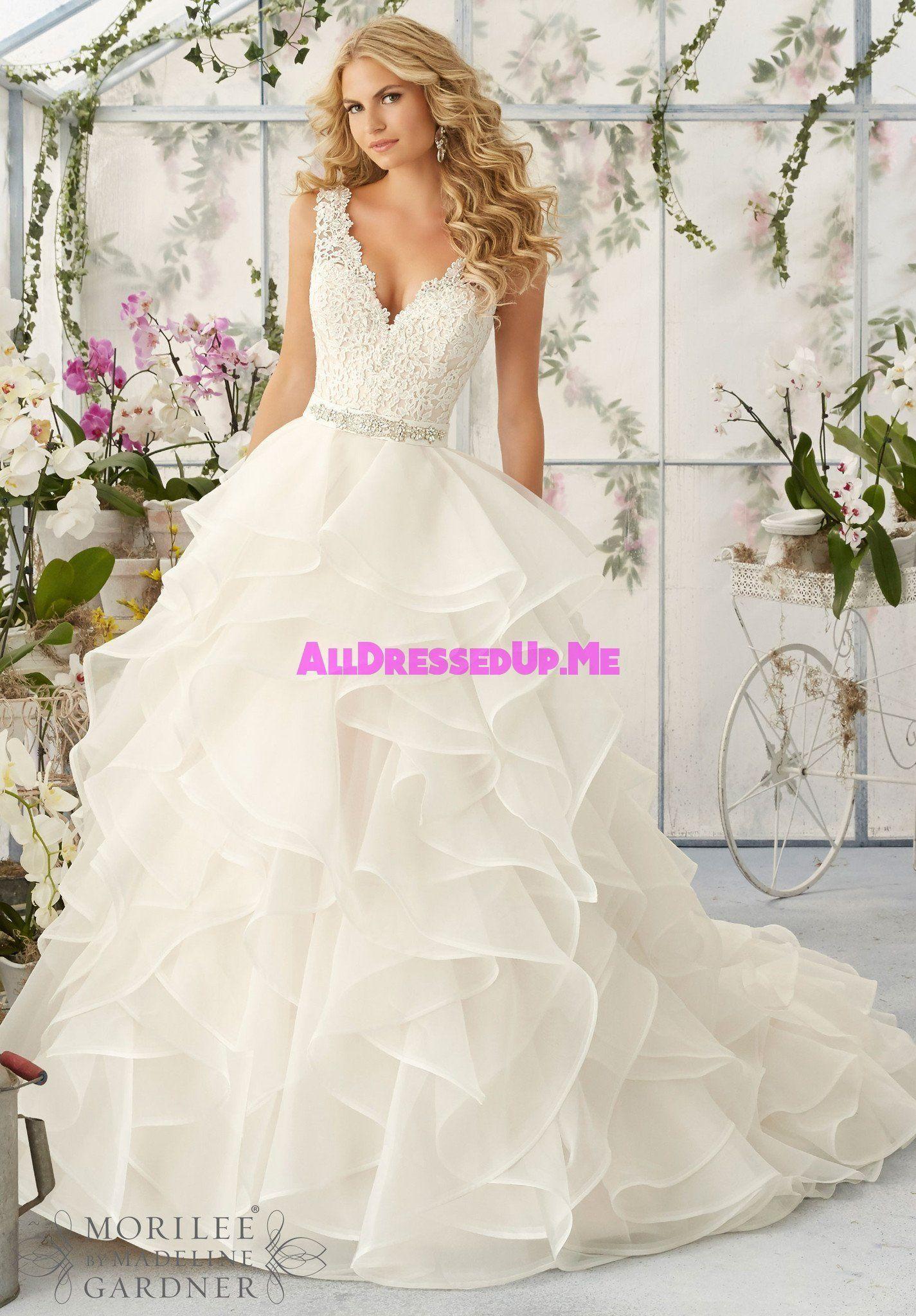 Mori lee gold wedding dress  Mori Lee    All Dressed Up Bridal Gown  Mori lee Bridal