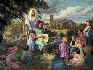 'Our Savior, Our Teacher' by: Bob Byerley (1941-, American)