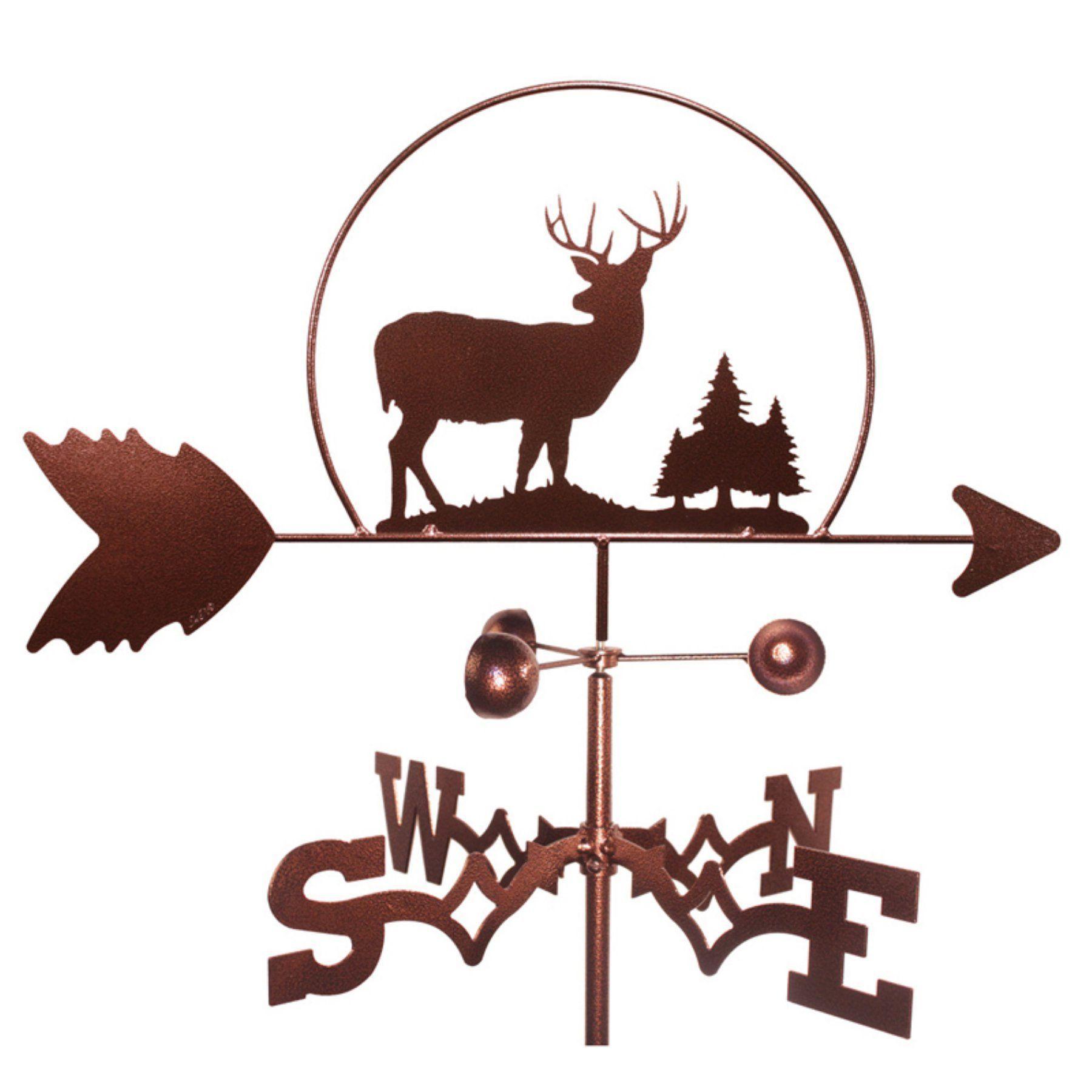SWEN Products Deer Buck Wildlife Weathervane - 1014-ROOF