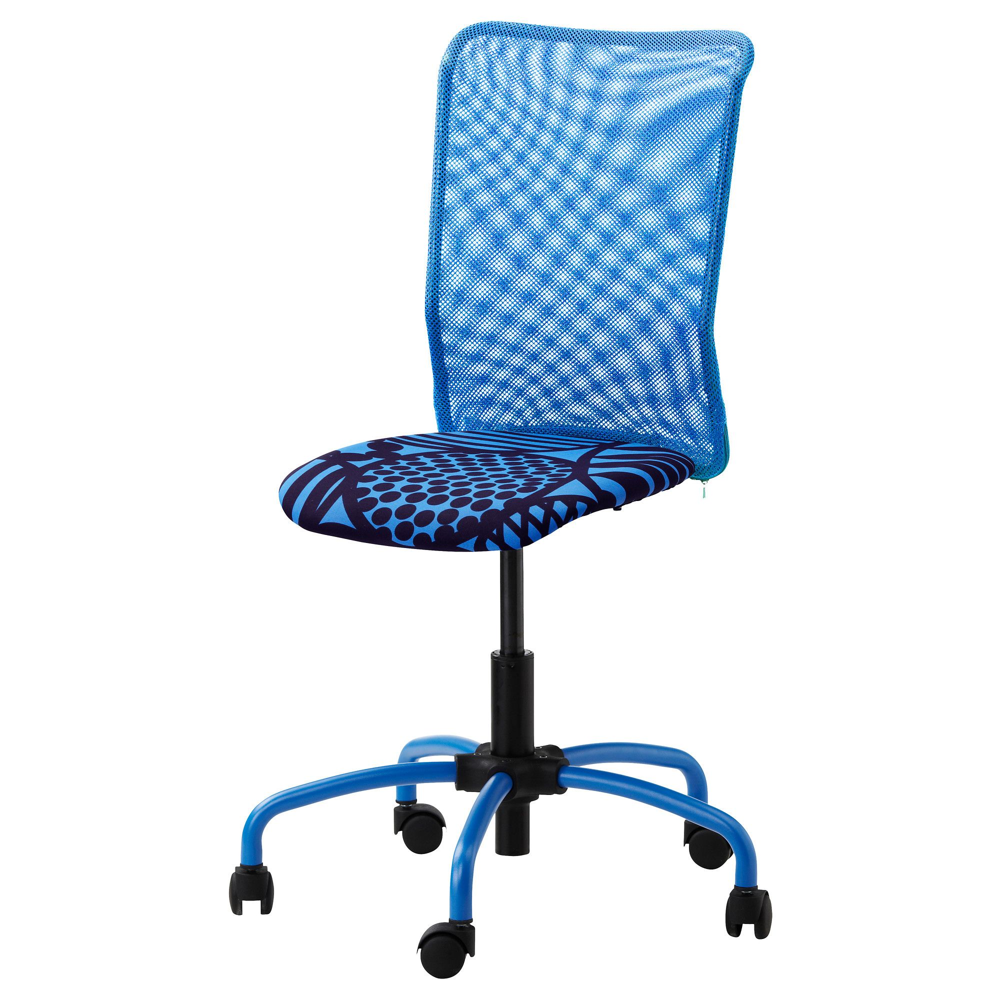 desk chair leans forward high chairs for toddlers ikea torbjorn swivel kvarnatorp blue you sit comfortably since the is adjustable in height sloping seat provides a comfortable sitting position when leaning