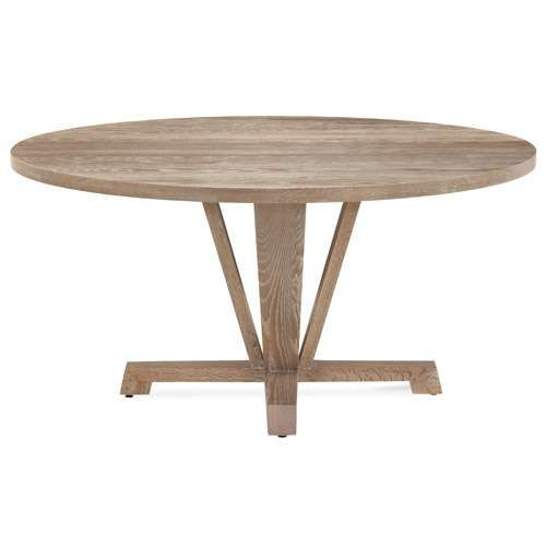Boylston Round Oval Extension Oak Dining Table Dining Table