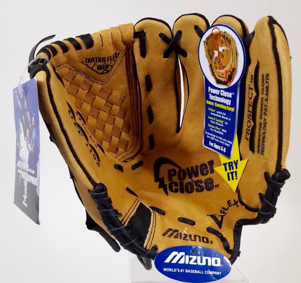 Mizuno Prospect Gpp 1102 11 Inch Leather Right Hand Thrower Glove New Mizuno Youth Baseball Gloves Mizuno Gloves