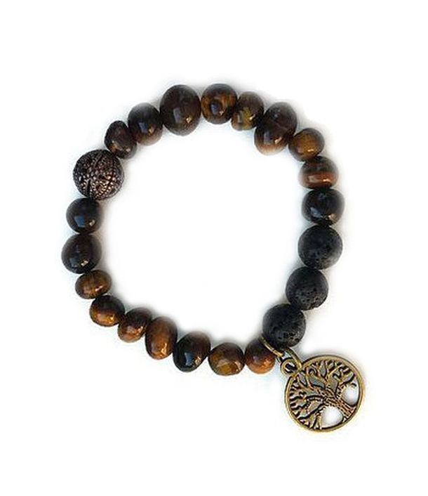 Tiger Eye essential oil diffusion bracelet – Escentuals Jewelry