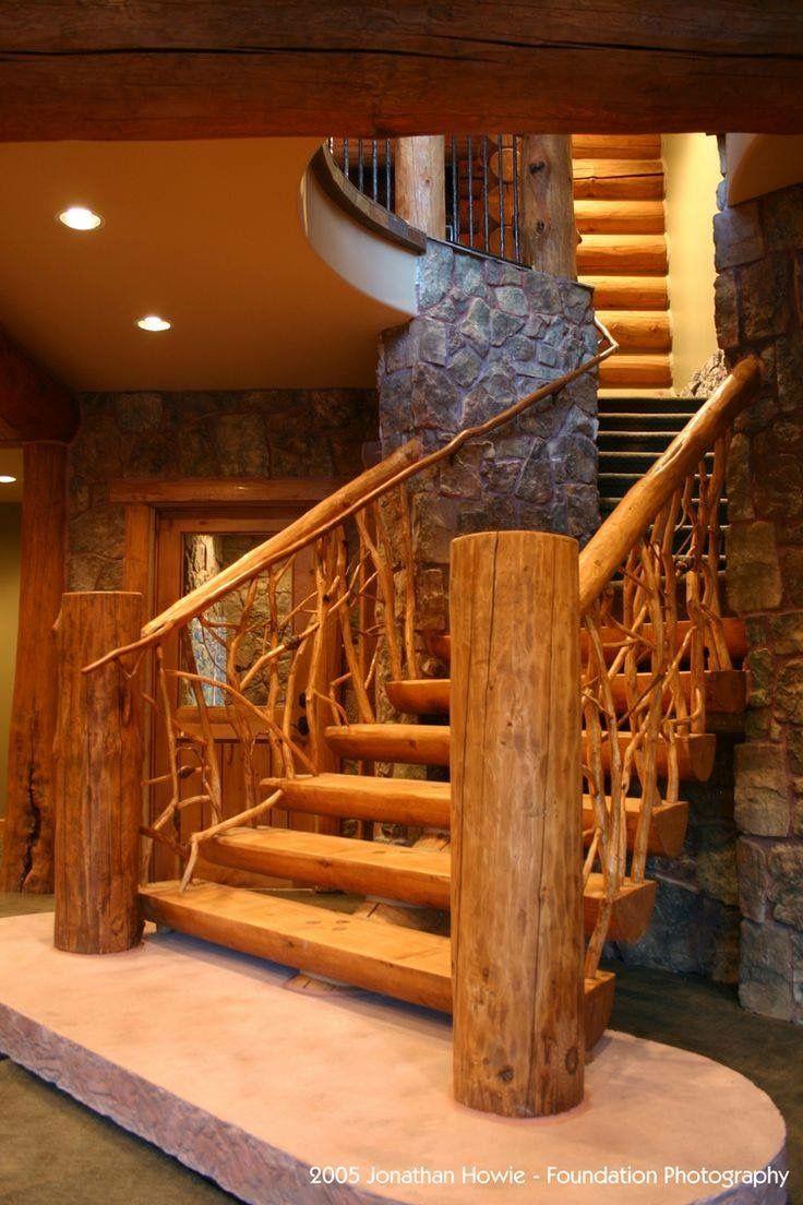 Pin de lamarr hope en rustic stairs pinterest pasillos for Escaleras bonitas