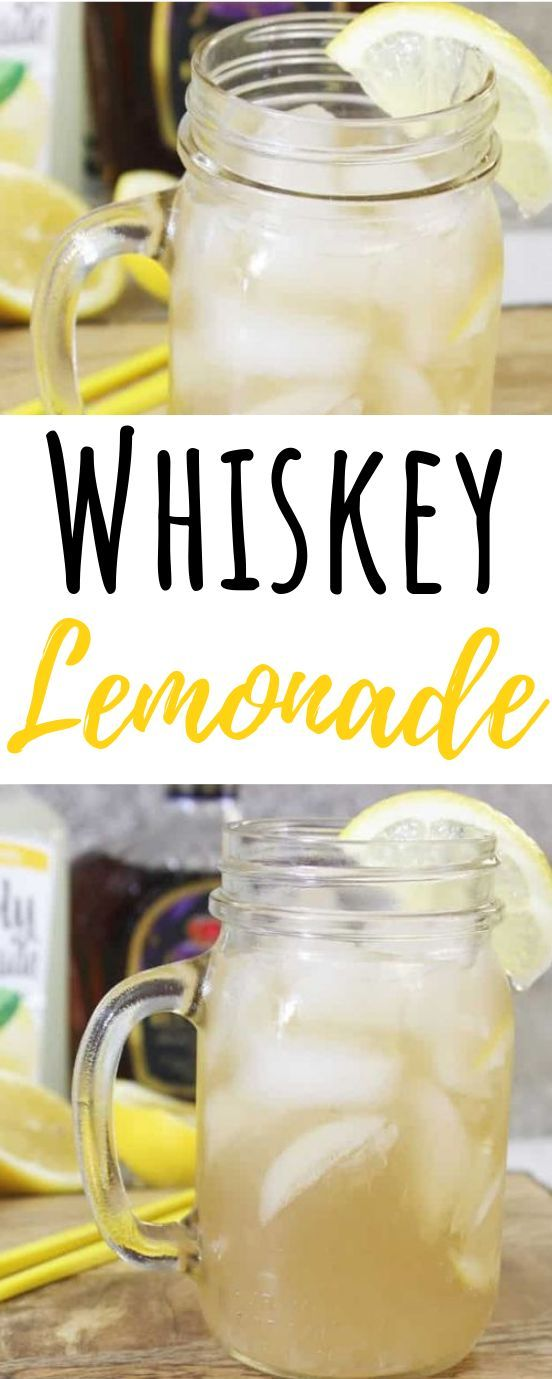 Easy Whiskey Lemonade   - ~~Sweet~~ -