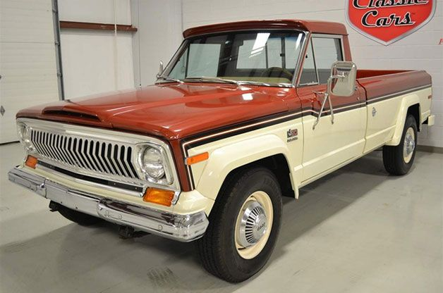 Ebay Find Of The Day 1977 Jeep J20 Time Capsule Jeep Truck Jeep Willys Jeep