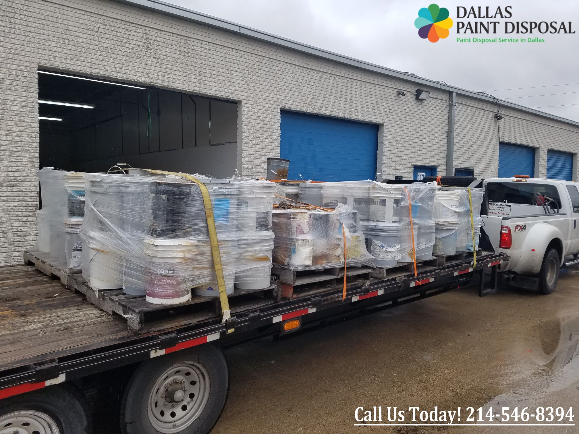 Dallas paint disposal is dallas most trusted cost