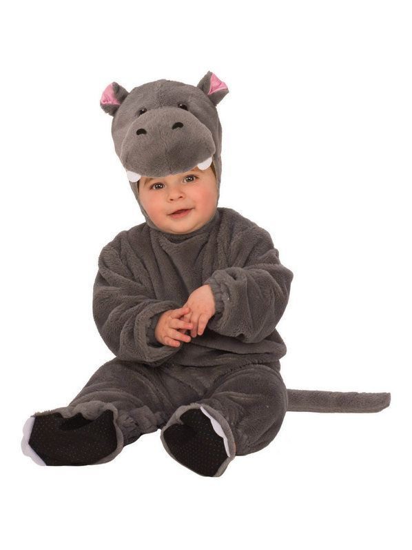 Infant Plush Hippo Costume #babyhippo