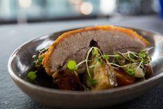 Five Spice Roast Pork Belly with Fennel  -  Josh Emett