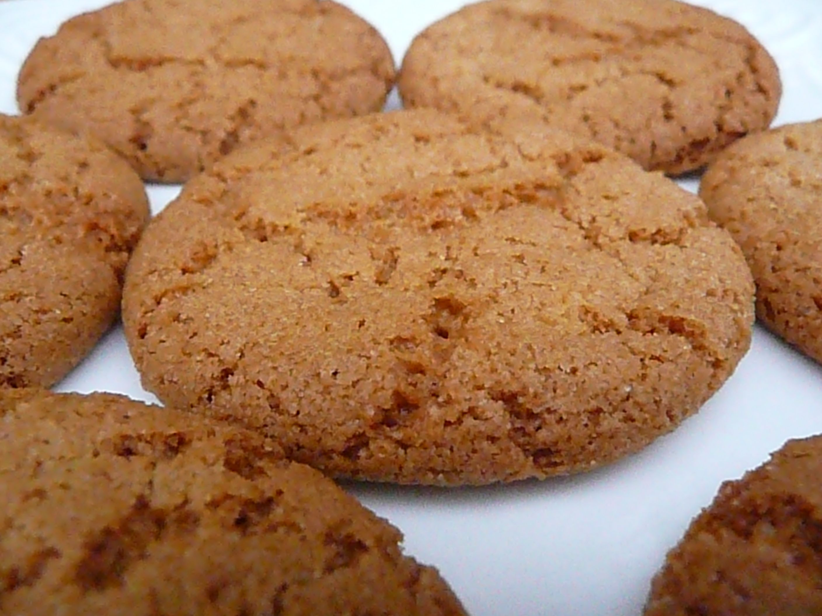 easy ginger cookies recipe cookies recipes pinterest