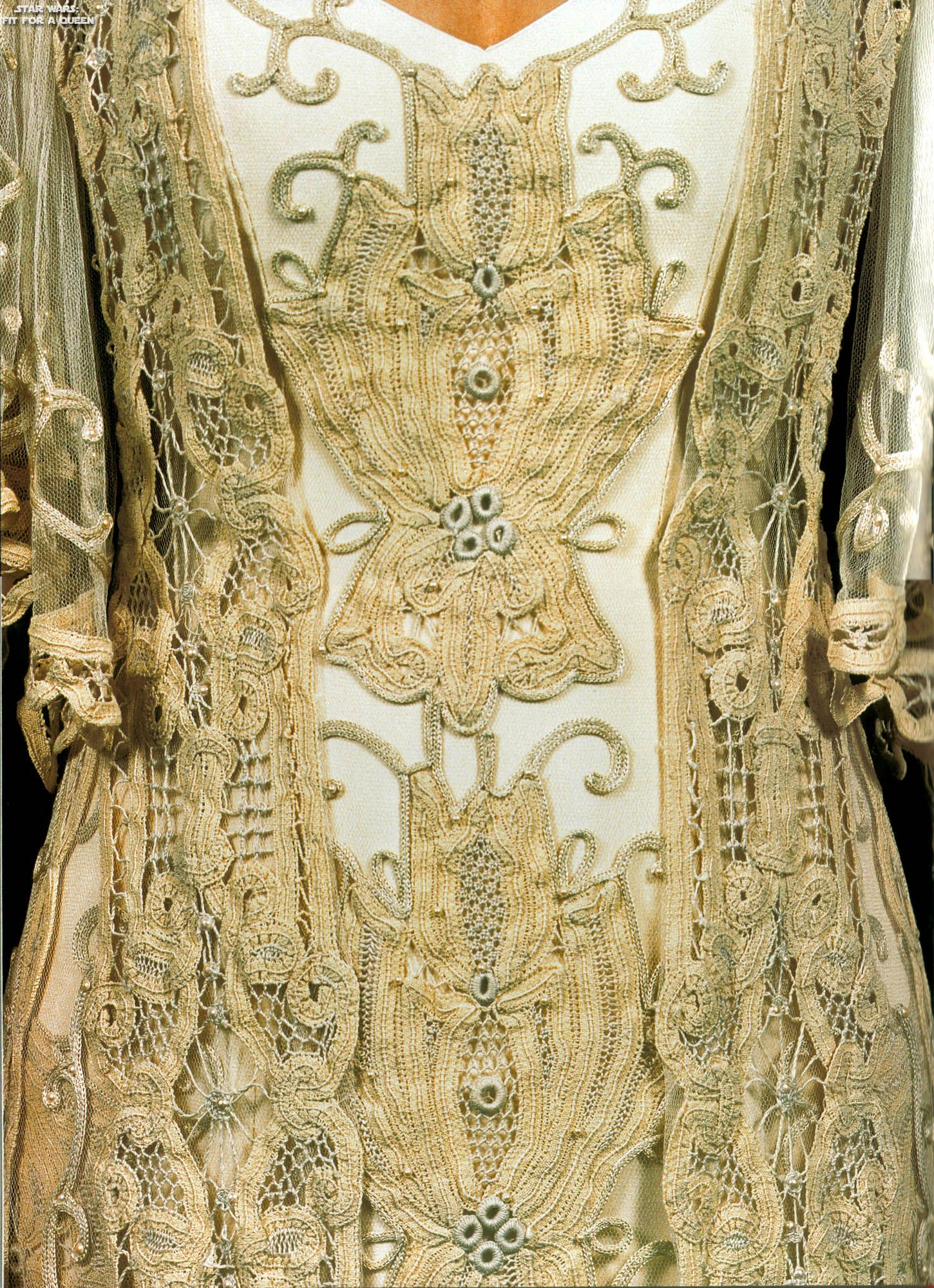 The Amazing Details Of Padmes Wedding Dress