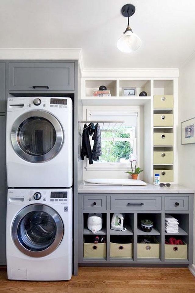 Ideas para el cuarto de la colada lavaderos cuartos de for Cuarto de la colada