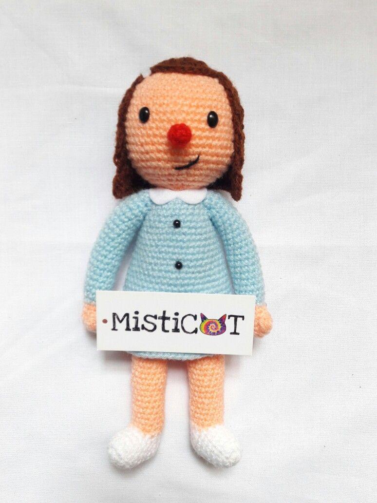 Enriqueta de Liniers hecha por Misticat 💙 | AMIGURUMI | Pinterest ...