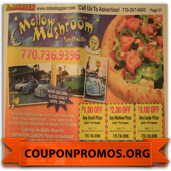 graphic regarding Mellow Mushroom Printable Coupons known as printable mellow mushroom discount codes - December 2014 Pattern
