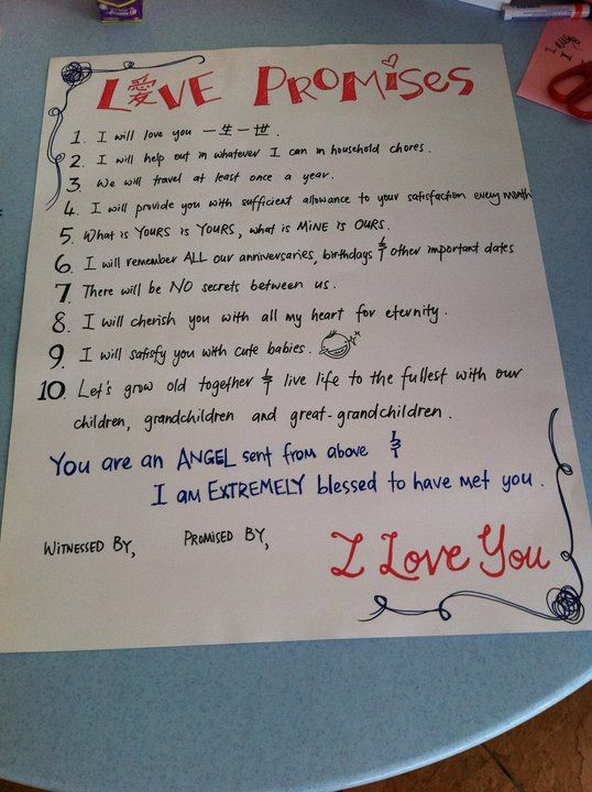 Created this marriage contract for a friend\u0027s wedding Weddings