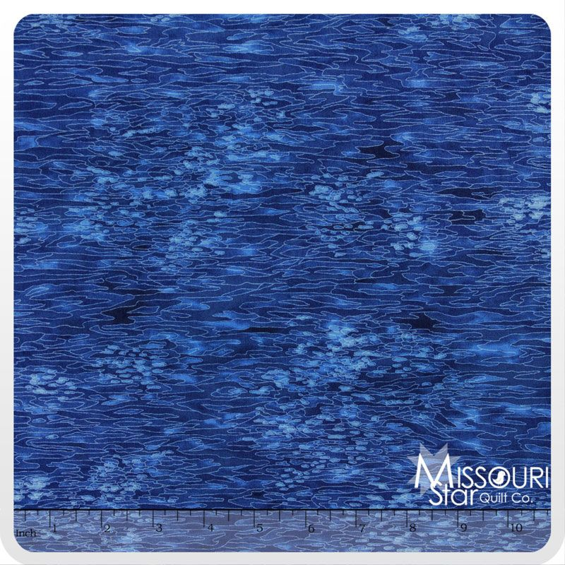 Fusions Texture Collection - Navy Yardage from Missouri Star Quilt Co