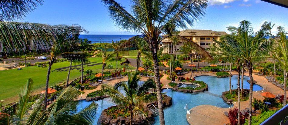 Located At Kauai Hawaii Resort On Poipu Beach Koloa Landing Resrt