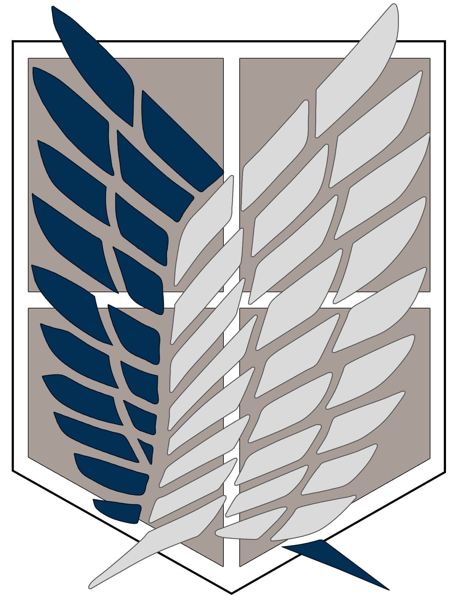 Attack On Titan Survey Corps Logo By Yumakirosaki On Deviantart Survey Corps Logo Attack On Titan Anime Attack On Titan