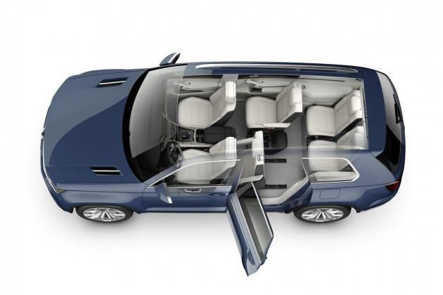 Volkswagen Crossblue 6 7 Seater Suv Concept