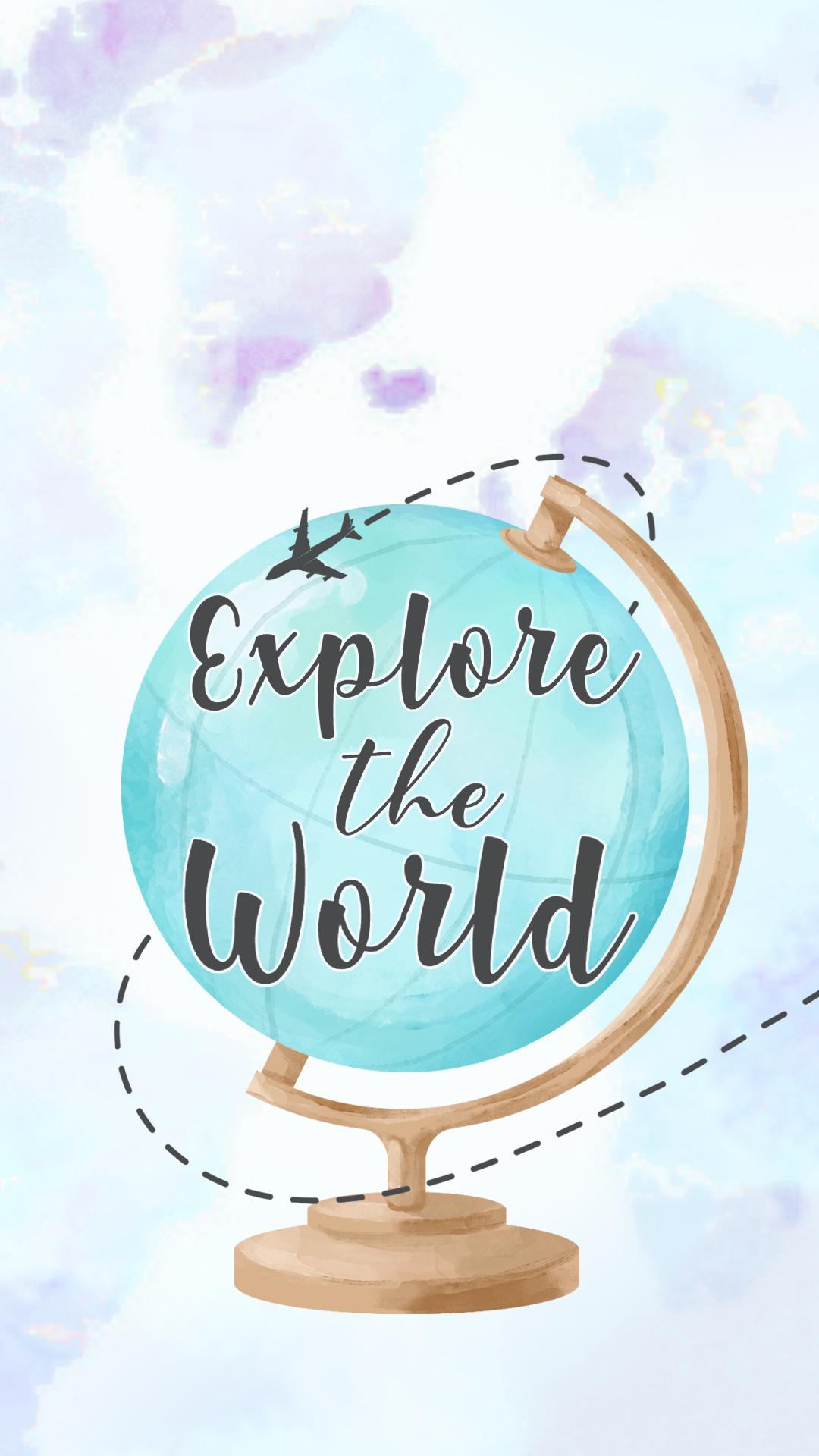 Explore The World Travel Wallpaper Wallpaper Backgrounds Wallpaper Quotes