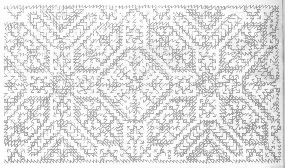 Diseños para bordar alfombras marroquíes Embroidery
