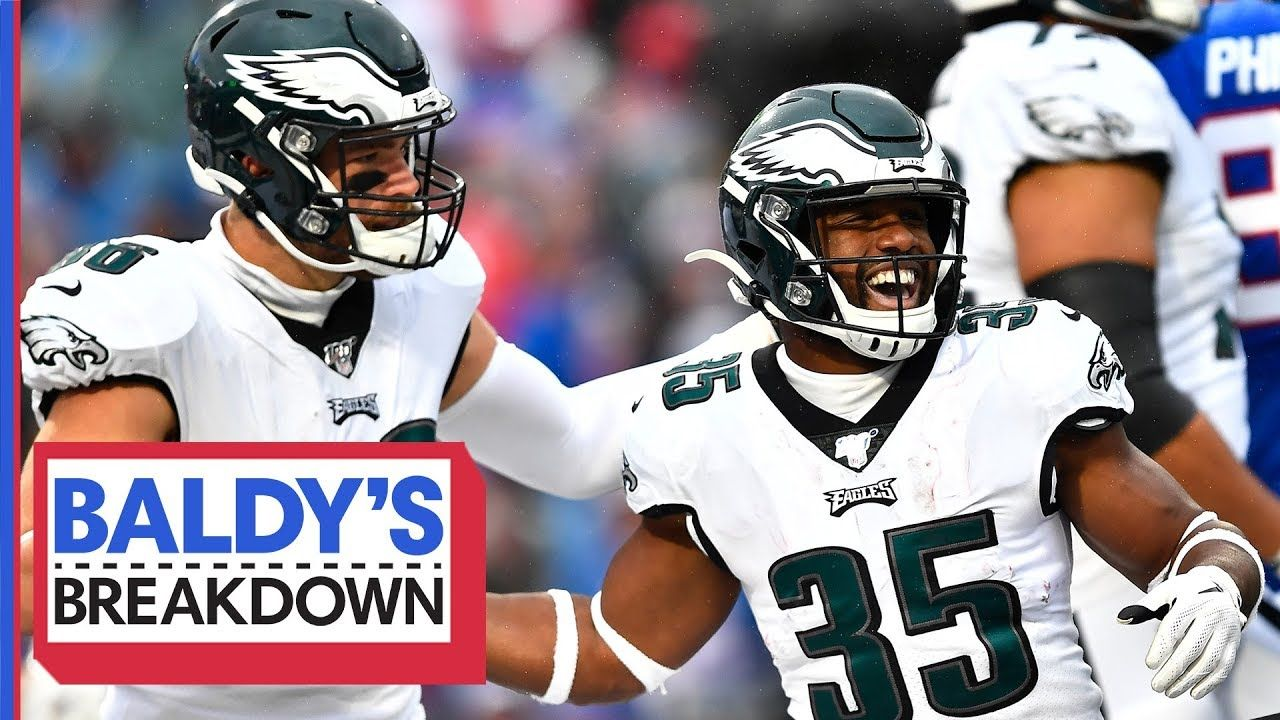 Why The Eagles Run Game Exploded Against The Bills In Week 8 Baldy S B Ran Games Eagles Football Helmets