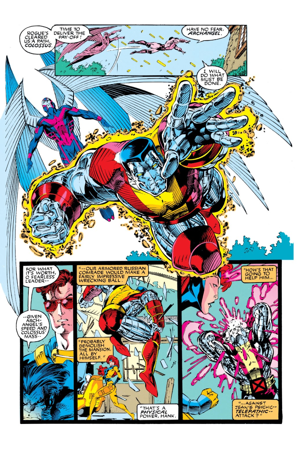 X Men 1991 Issue 1 Read X Men 1991 Issue 1 Comic Online In High Quality Super Heroi Marvel Comics Herois