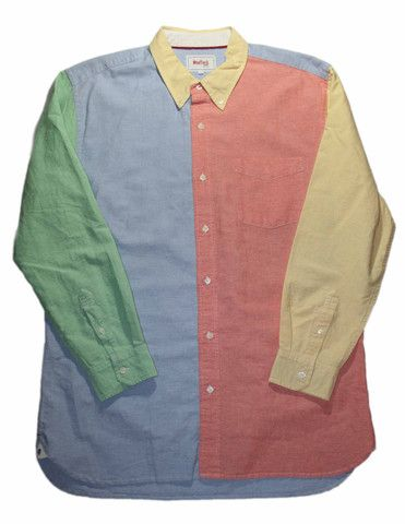 125d717efff Vintage 90s Fresh Prince of Bel Air Style Button Down Shirt Mens Size XL   30.00