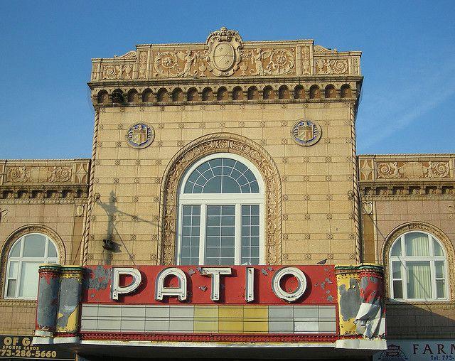 Patio Theatre Marquee