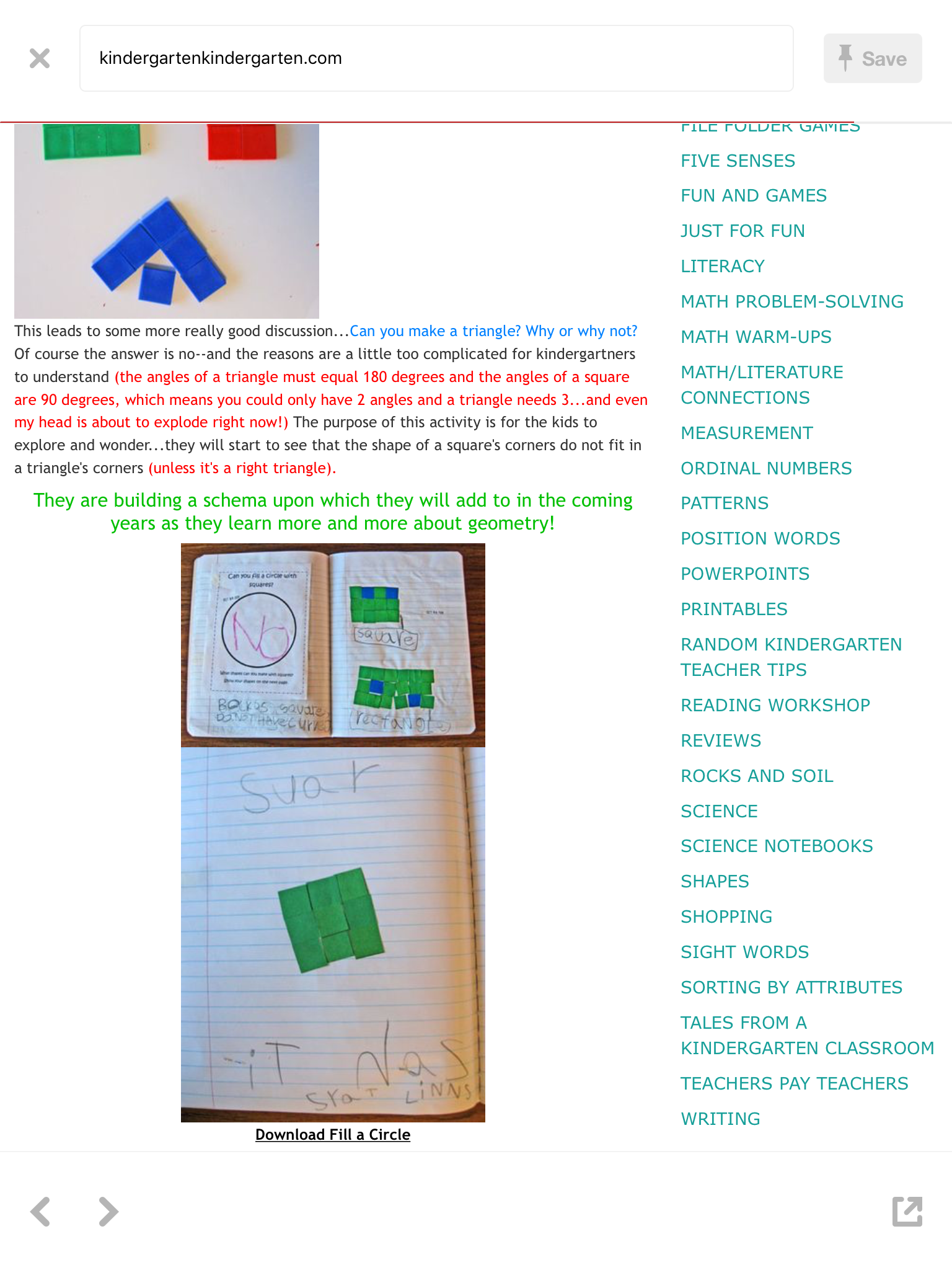 Pin by Marjolaine (Marjo) Miller on Early Elementary Math ...