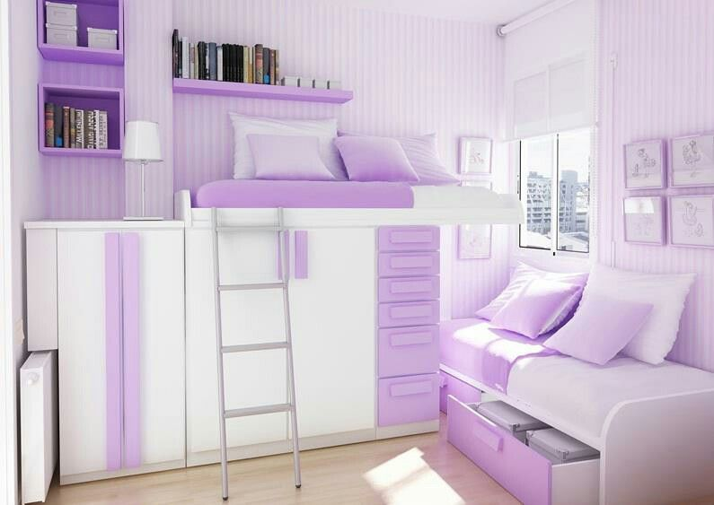 Home Design And Interior Design Gallery Of Bedrooms Cool Bright Purple Room  Design For Teenage Girls Cool Teenage Girl Rooms