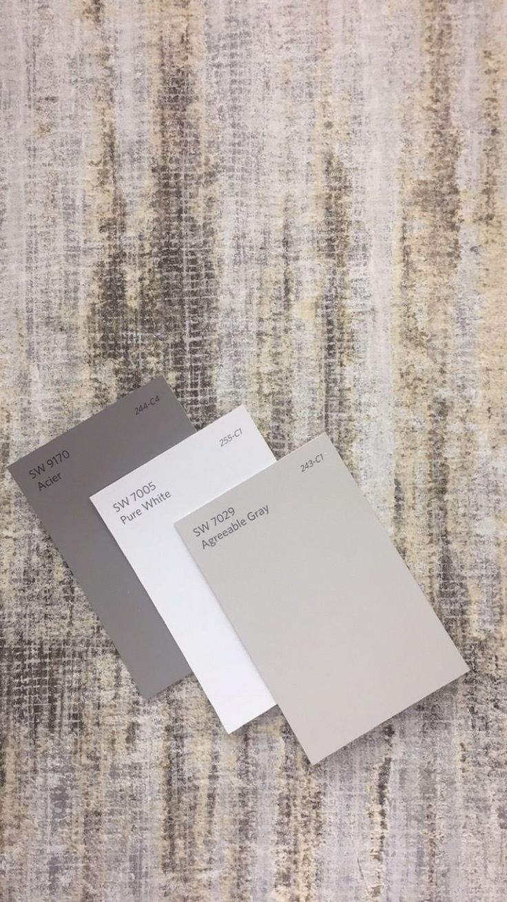 Agreeable Gray Color Scheme