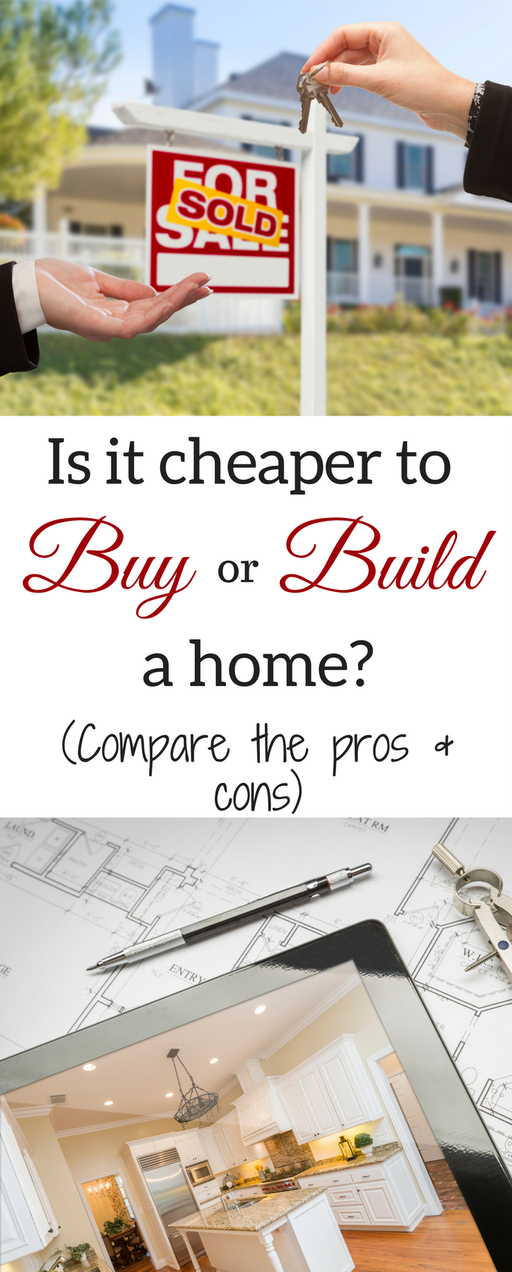 How Much Does It Cost To Build A House And Is It Cheaper To Buy Or Build Building A House Home Buying Buying First Home