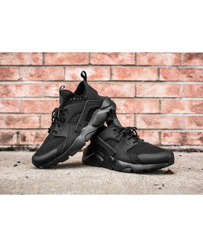 b1f524810527 Nike Air Huarache Ultra Br Triple Black Trainer Material using a high-fiber  molecular material