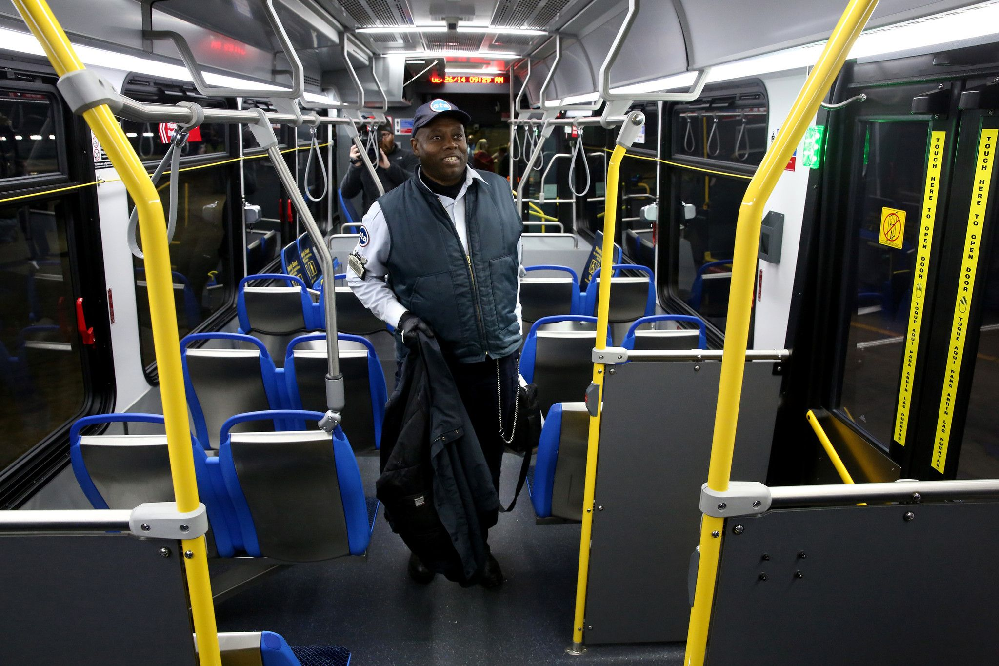 The CTA is testing a prototype of 300 new buses that will
