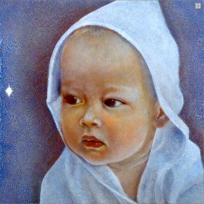 Kaivalya Sage painted by Aloria Weaver and David Heskin