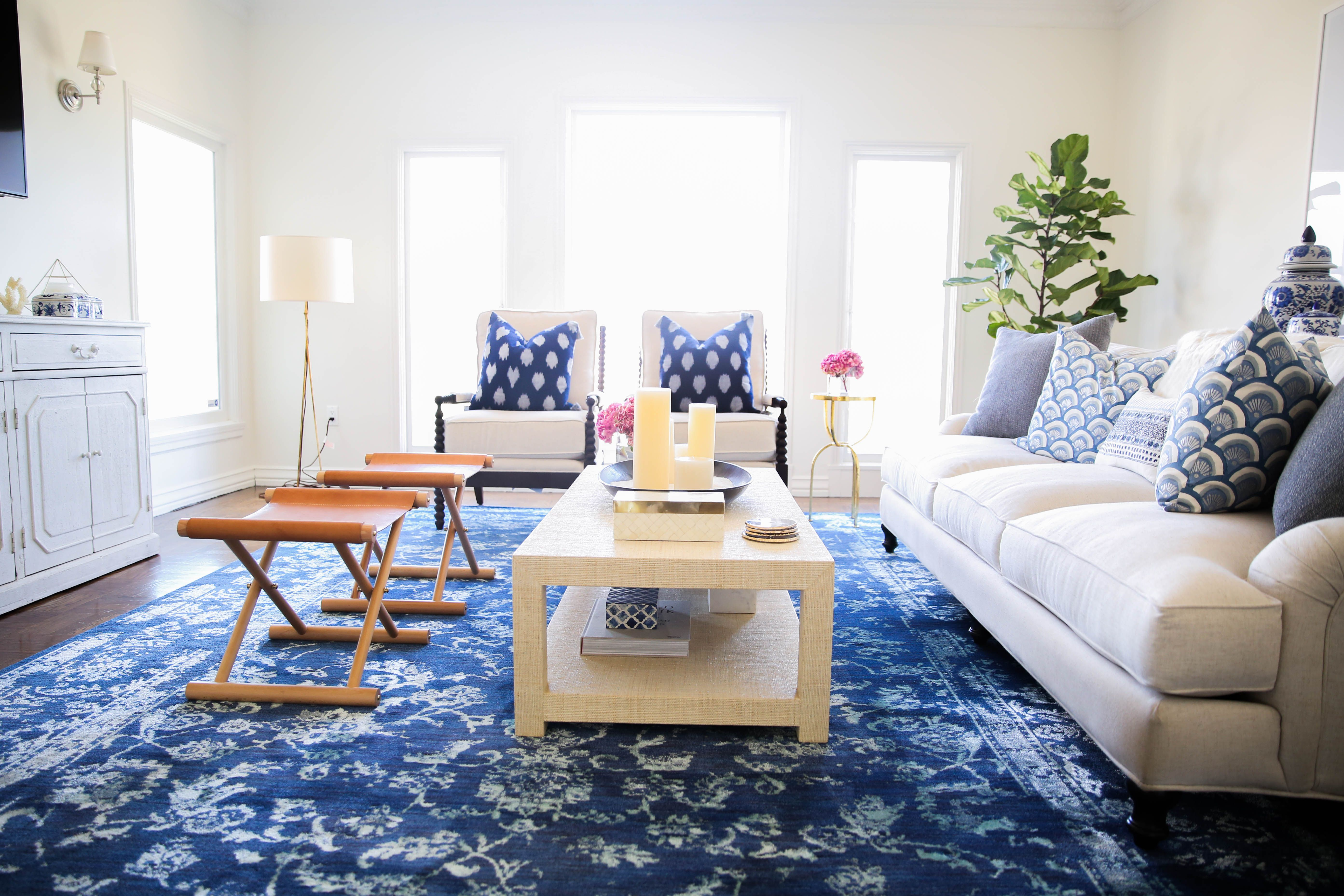 Ariana Lauren living room remodel by Ashley Katherine of Modern Glam ...