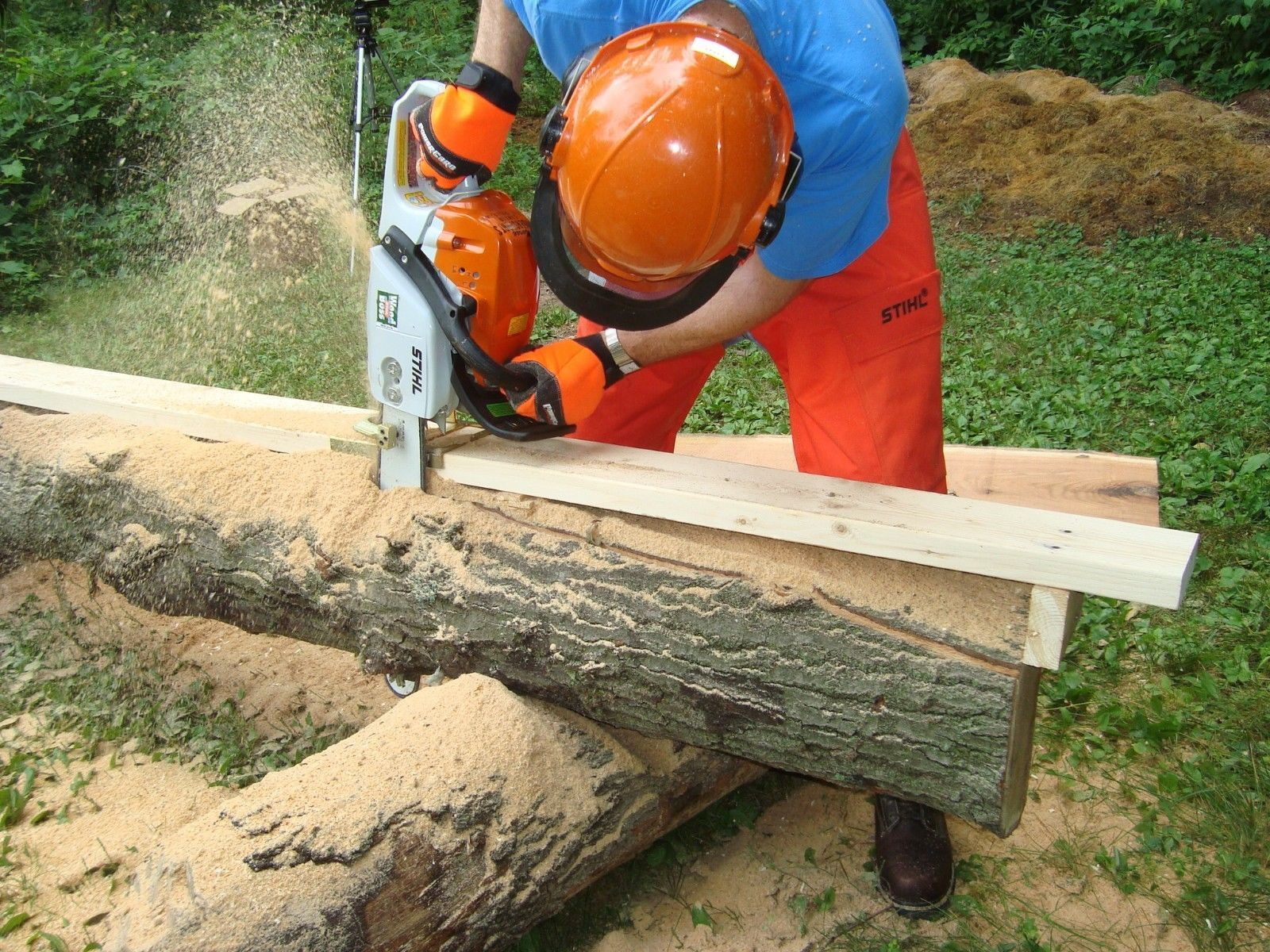 Haddon Lumbermaker Chainsaw Mill Made In Usa Ebay