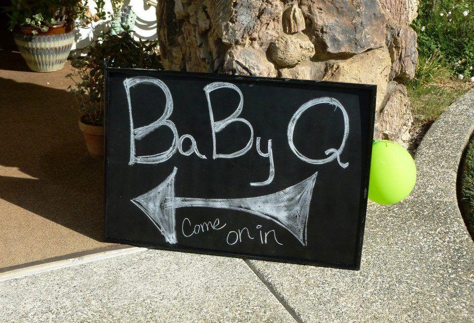 Backyard Baby Q Ideas