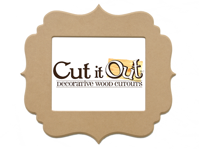 Good Cut It Out, Custom And Decorative Wood Cutouts // Cheap Unfinished Frames