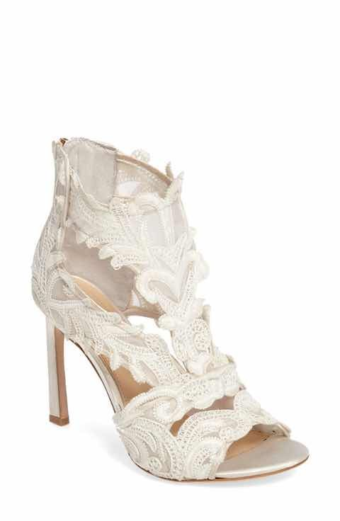 Imagine By Vince Camuto Randal Lace Detailed Sandal Women Bridal Shoes Bridal Heels Heels