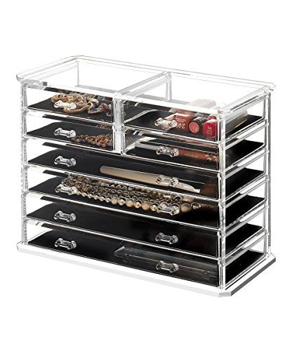 Saganizer Clear Acrylic Jewelry Organizer You can get more