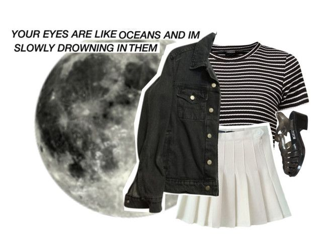 """""""Midnight"""" by flxwerbaby ❤ liked on Polyvore featuring American Apparel"""