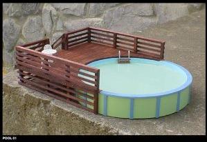 Intex Above Ground Pool Decks Home Design Ideas