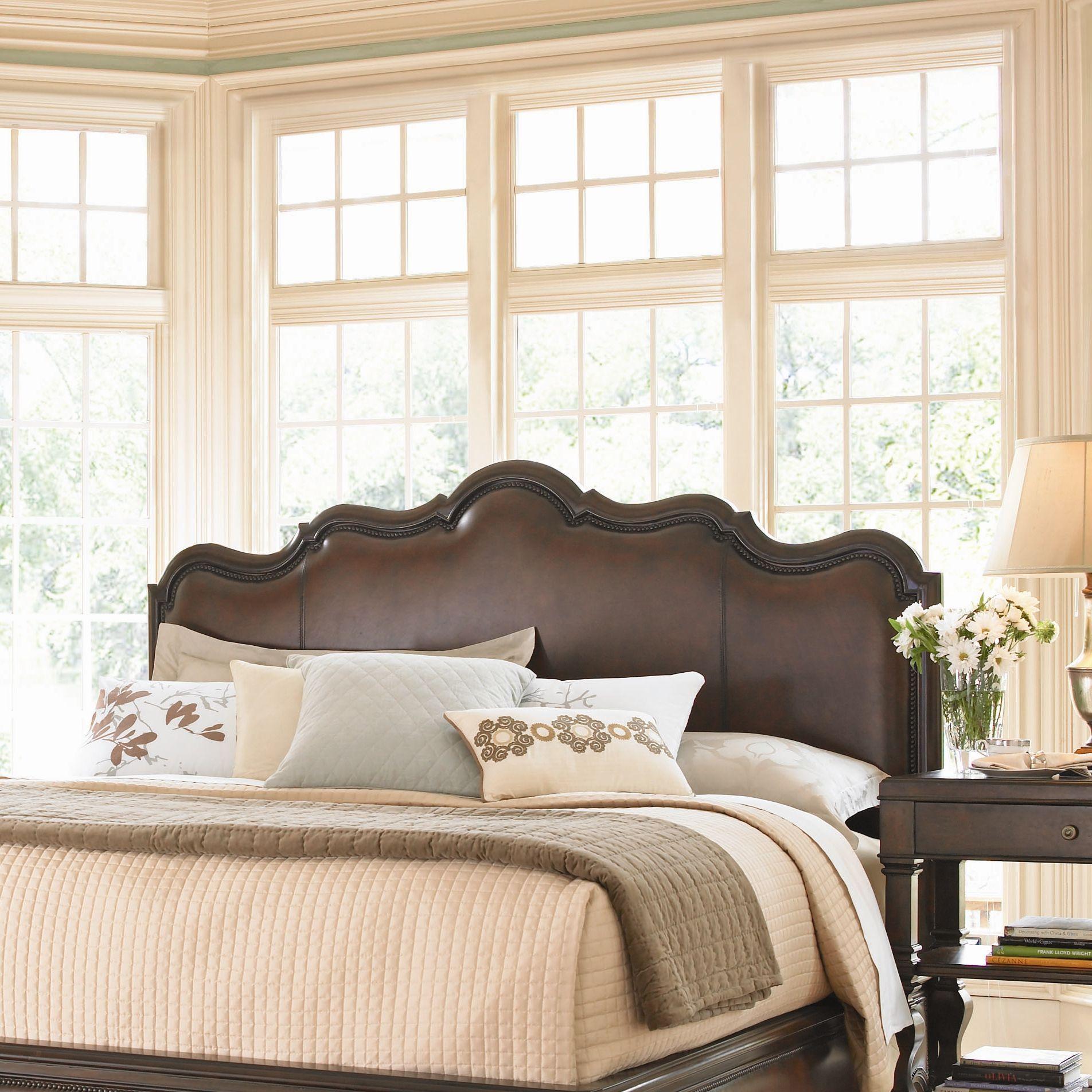 Master bedroom headboard  leather headboard  Bedrooms  Pinterest  Leather headboard Bed